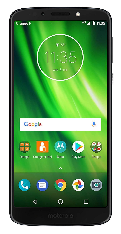 アマゾン限定でモトローラ Moto G6 Playが販売へ。24624円、5.7インチ1440×720/Snapdragon 430/RAM3GB/ROM32GB/13MP/8MP/DSDS。