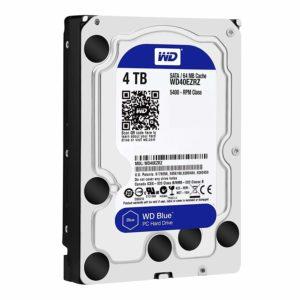 アマゾンでWD HDD 内蔵ハードディスク 3.5インチ 4TB WD Blue WD40EZRZ/AFP2がセール中。