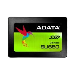 NTT-XストアでADATA Ultimate SU650 2.5インチSSD 960GB/480GB/240GB/120GBが価格コム最安値から更に安く販売中。1TBが1万円切りへ。