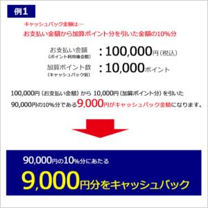 ビックカメラ北海道地震の被災者の方向けに家電10%キャッシュバック、その他全品5%バックを実施中。ゲーム機やプリペイドカード、ロレックスやアップル製品は対象外。~10/31。