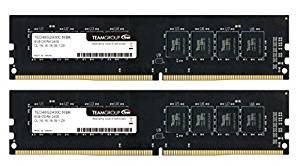 アマゾンでTeamのDDR4デスクトップ用メモリが市場最安値でセール中。