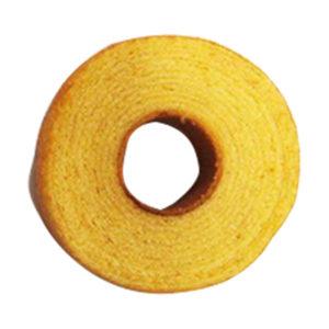 auスマートパスプレミアムで発酵バターを使ったこだわりのバウムクーヘンが5万名に当たる。