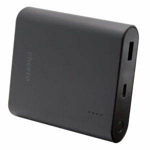 【新発売】アマゾン/楽天/Yahoo!でPower Delivery 3.0 対応 大容量 モバイルバッテリー cheero Power Plus 4 13400mAh / Type-C/最大出力 18Wが数量限定セール中。