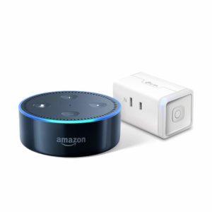 アマゾンで+500円でAmazon Echo DotとTP-Link スマートコンセントがセットに。
