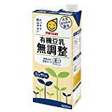 アマゾンでマルサン 有機豆乳無調整 1000ml×6本がセール中。プロテインの代替品としても便利。