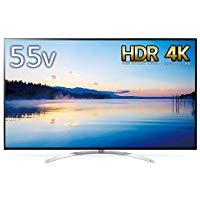 アマゾンでLGの65/60/55V型4Kテレビがタイムセール中。