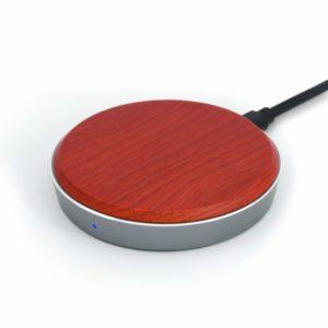 アマゾンでEnacFire ワイヤレス充電器 高級天然カリン木製 QC3.0急速充電の割引クーポンを配信中。