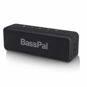 アマゾンでBassPal SoundRo X3 Bluetoothスピーカー IP6X防水の割引クーポンを配信中。