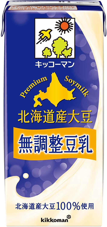 アマゾンで貴族向け、キッコーマン飲料 北海道産大豆 無調整豆乳 1L×6本がタイムセール中。それでも高い。
