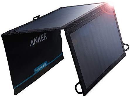 アマゾンでAnker PowerPort Solar Lite (15W 2ポート USB ソーラーチャージャー) がタイムセール中。