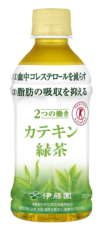 アマゾンでトクホの伊藤園「2つの働き カテキン緑茶」350ml×24本がタイムセール中