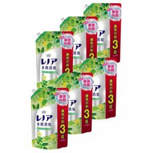 楽天スーパーDEALでレノア 本格消臭 フレッシュグリーンの香り つめかえ用超特大サイズ(1320mL*6コセット)が50%バックで10%OFF。~明日10時。