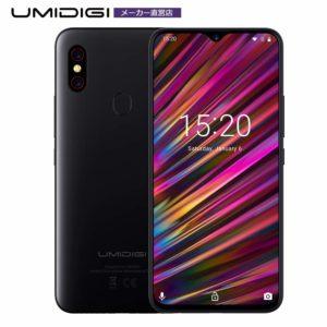 【技適取得しました】コスパ最高UMIDIGI F1 SIMフリースマートフォンがアマゾンで予約受付中。Android 9.0/6.3インチ/FHD+/RAM4GB/Helio P60。