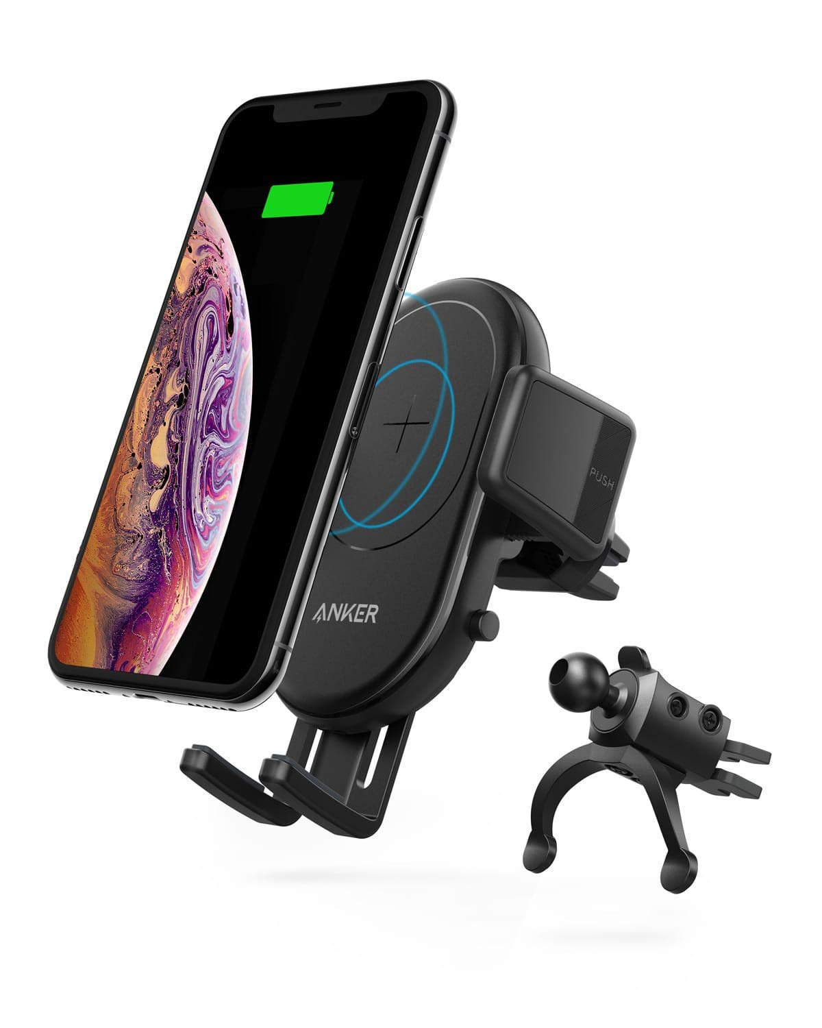 アマゾンでAnker PowerWave 7.5 Car Mount、10W対応のPadとStandが販売へ。