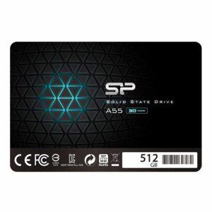 アマゾンでシリコンパワー SSD 512GB 3D TLC NAND採用 SP512GBSS3A55S25がセール中。