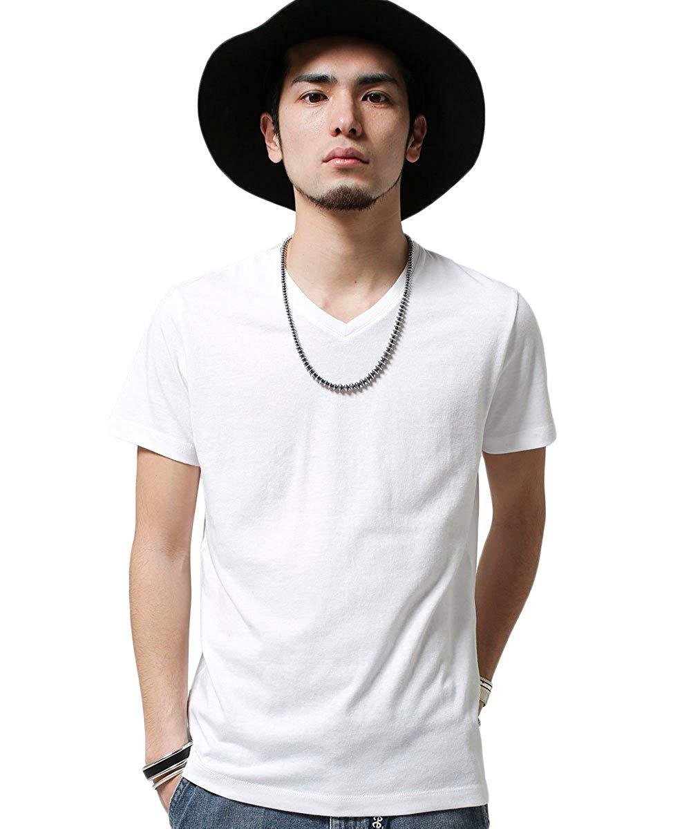 アマゾンでユニクロより安いnano・universe 別注VネックTVシャツが400円。まとめ買いにどうぞ。