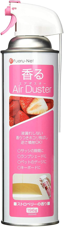 アマゾンタイムセールでフエルネット 香るエアダスター ストロベリーの香り 42823が191円送料無料。
