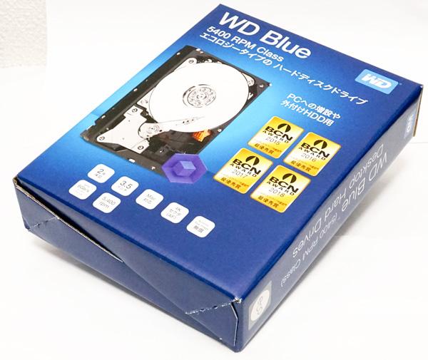 今話題のコスパ抜群HDD、NTT-XストアのWD 4TB、クーポン適用6780円の特価品をポチってベンチマークしてみた。WD40EZRZ-RT2。~3/27。