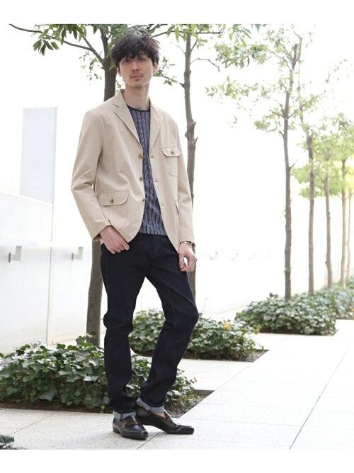 楽天ブランドアベニューでTAKEO KIKUCHIのファンクションカルゼサファリジャケットがパンツセットで実質8割引。