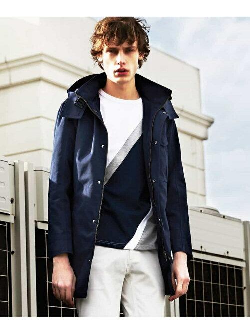 楽天ブランドアベニューで春先にも着やすそうなMK MICHEL KLEIN hommeのコート(ミリタリーTCウエポン)が23760円から15500円程度に値下げ中。