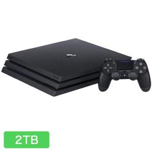 【平成限定】dショッピングでPlayStation4 Pro ジェット・ブラック 2TB CUH-7200CB01が価格コムぶっちぎりの実質価格セール。通常のPS4無印も安い。