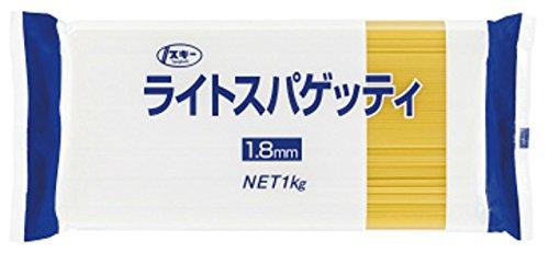 アマゾンで奥本製粉 スキー ライトスパゲッティ1.8㎜ 1kg×16袋が普通のコスパで販売中。