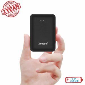 アマゾンで軽量っぽいXnuoyo モバイルバッテリー 10000mAh大容量の割引クーポンを配信中。
