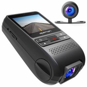アマゾンでAPEMAN ドライブレコーダー ドラレコ 前後カメラ デュアルレンズ 1200万画素の割引クーポンを配信中。