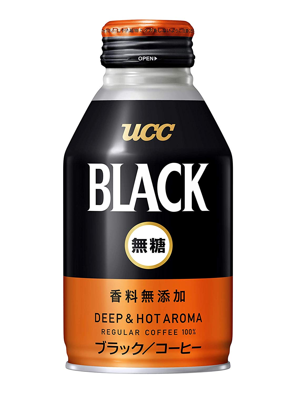 アマゾンでUCC BLACK無糖 DEEP & HOT AROMA 缶コーヒー 275g×24本の半額クーポンを配信中。