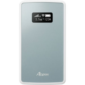 ひかりTVショッピングでモバイルWi-FiルーターのAterm MP01LNが実質6000円台でそこそこ安い。