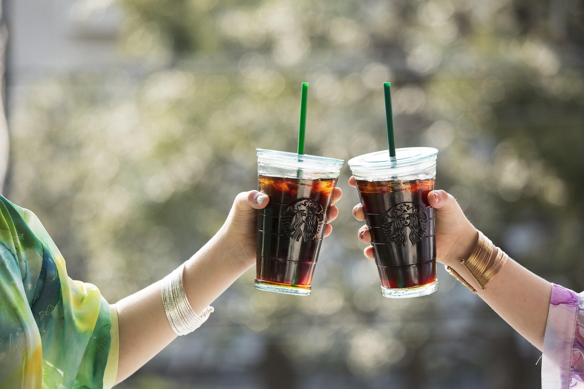 スターバックスで2 MORE COFFEES。1杯目定価、2-3杯目が1杯150円。カフェミストは200円。~5/14。