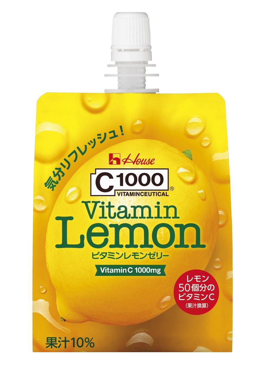 アマゾンでC1000 ビタミンレモンゼリー 180g×24個 ハウスウェルネスフーズがタイムセール中。