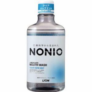 アマゾンでリステリン互換品のNONIO マウスウォッシュ 600ml 洗口液がセール中。ライオンの本気を舐めてはいけない。