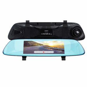 アマゾンでAUKEY ミラー型 ドライブレコーダー バックミラー型 前後2カメラ DRA2の割引クーポンを配信中。