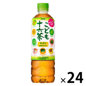 LINE限定でアサヒ こども十六茶 500ml×24本の300円引きクーポンを配信中。アマゾン、楽天、LOHACOで使えるぞ。