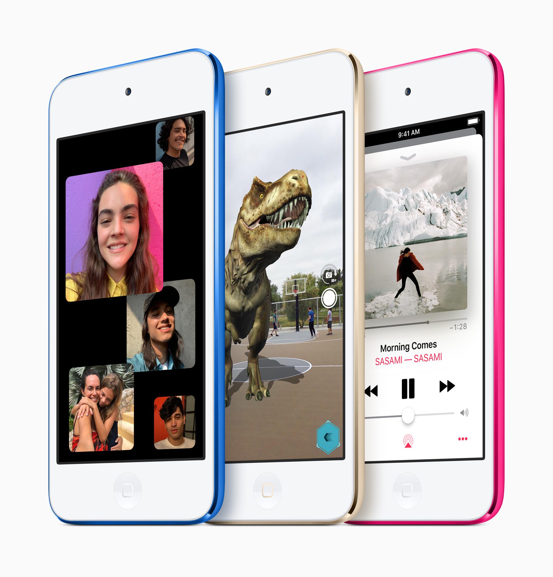 新型iPod Touch(2019)が突然発表へ。A10 Fusionチップ搭載でスピード2倍。32GBが2.2万から。貴重なお金は新型iPhoneの頭金に使おう。5/30~。