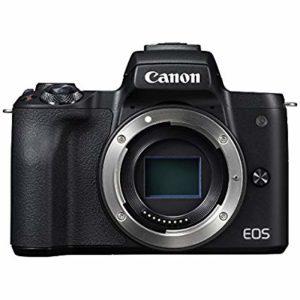 キャノンのAPS-Cミラーレス一眼カメラのEOS Kiss Mが5000円分キャッシュバック。マウント注意。6/6~9/30。
