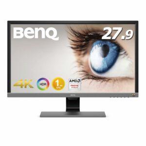 アマゾンでBenQ 27.9インチ ゲーミングモニター/4Kディスプレイ EL2870Uが価格コム最安値でセール中。
