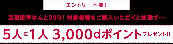 ドコモオンラインショップがリニューアル記念で5400円以上買うと5人に1人dポイント3,000ポイントをプレゼント中。端末がアップルストア公式SIMフリーより高い。