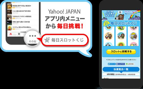 Yahoo!アプリの毎日くじでプレミアムロールケーキが500名、マチカフェが1000名、じゃがりこが500名に当たる。~2/28。
