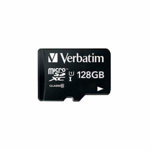 三菱ケミカルメディア Verbatim microSDXCカード 128GBが驚異の2000円切り。サムスンも安い。