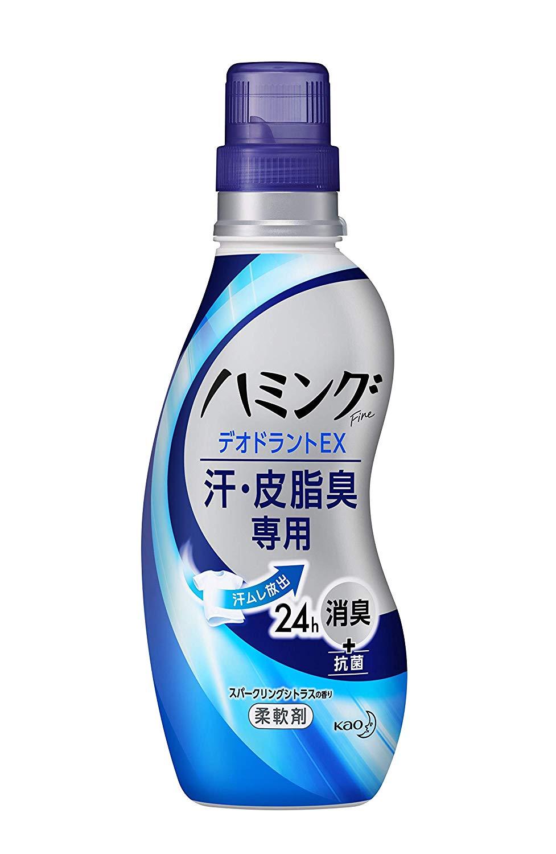 アマゾンでハミングファイン 柔軟剤 DEOEX スパークリングシトラスの香り 本体540mlの半額クーポンを配信中。