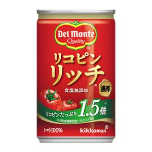 モラタメでキッコーマン飲料「デルモンテ リコピンリッチ トマト飲料 160g缶 12本」が1920円⇒920円送料無料。一本76円。毎日飲むならペットボトル一択。