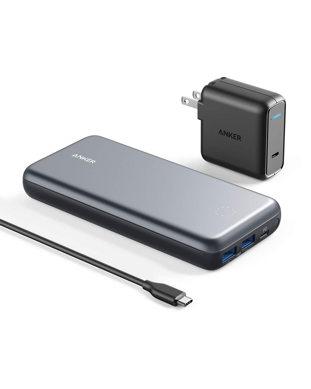 アマゾンでAnker PowerCore+ 19000 PD+USB充電器がタイムセール中。