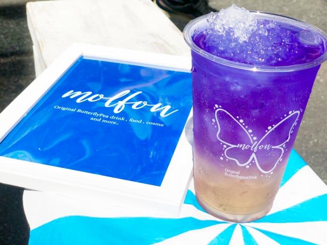 バタフライピー専門ポップアップストアでドリンク1杯無料@原宿。