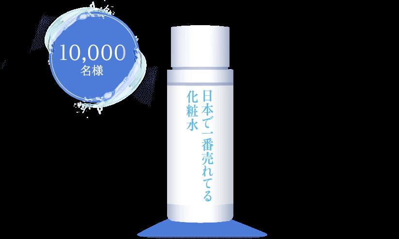 ロート製薬の日本で一番売れてる化粧水が抽選で1万名に当たる。~8/25。