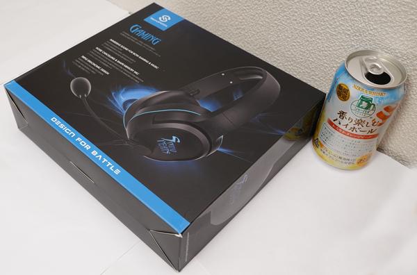 SoundPEATS ゲーミングヘッドセット450円送料無料が届いたぞ。