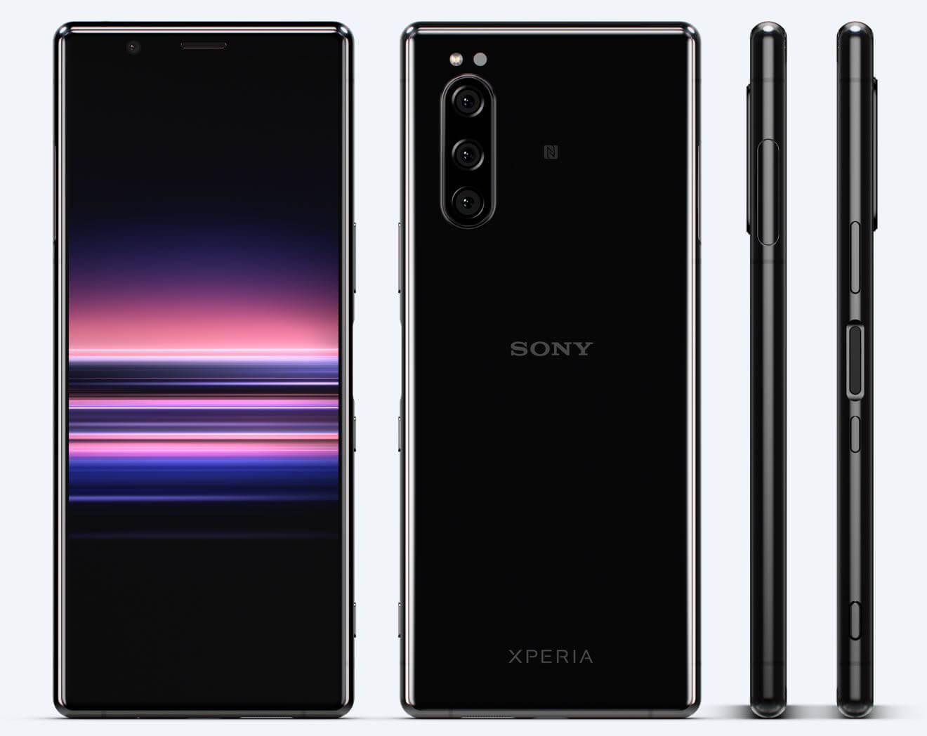 Sony Xperia 5の始値は582ポンド、78570円。6.1インチ、21:9ELディスプレイ/SD855/6GB/128GB/IP68/12MPトリプルレンズ。