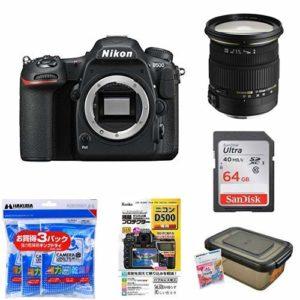 Nikon デジタル一眼レフカメラ D500 ボディ + SIGMA 標準ズームレンズ 17-50mm F2.8 EX DC OS HSMが特選タイムセール。