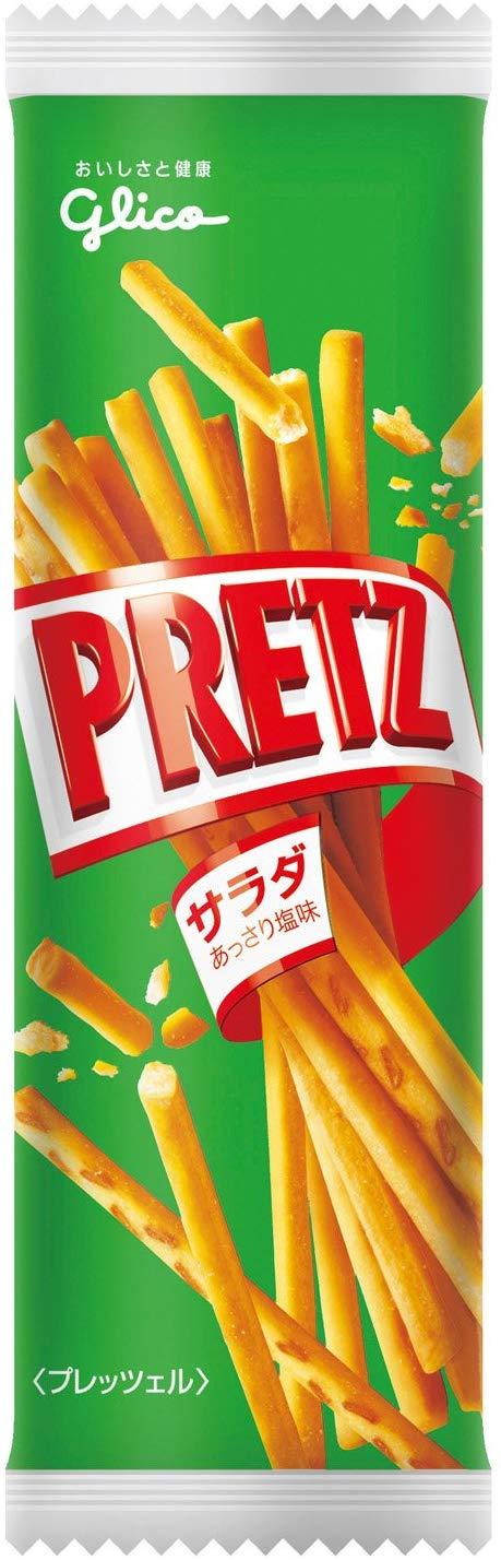 アマゾンで江崎グリコ ポケセレプリッツ<サラダ> 15.5g×54個がセール中。